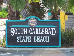 CARLSBAD SB SIGN