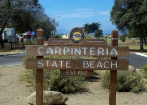 CarpStateBeach Sign icontact