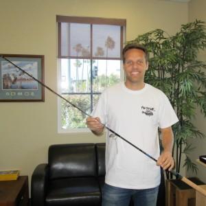 Congratulations to Scott...The Winner of a New Cousins/BV surf rod!